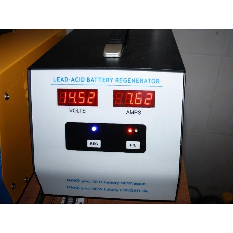 Regeneration batterie chariot elevateur