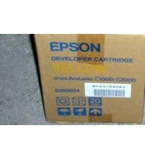 Toner Epson AcuLaser C1000 C2000 Noir (S050033) / Jaune (S050034) / Magenta (S050035) / Cyan (S050036)