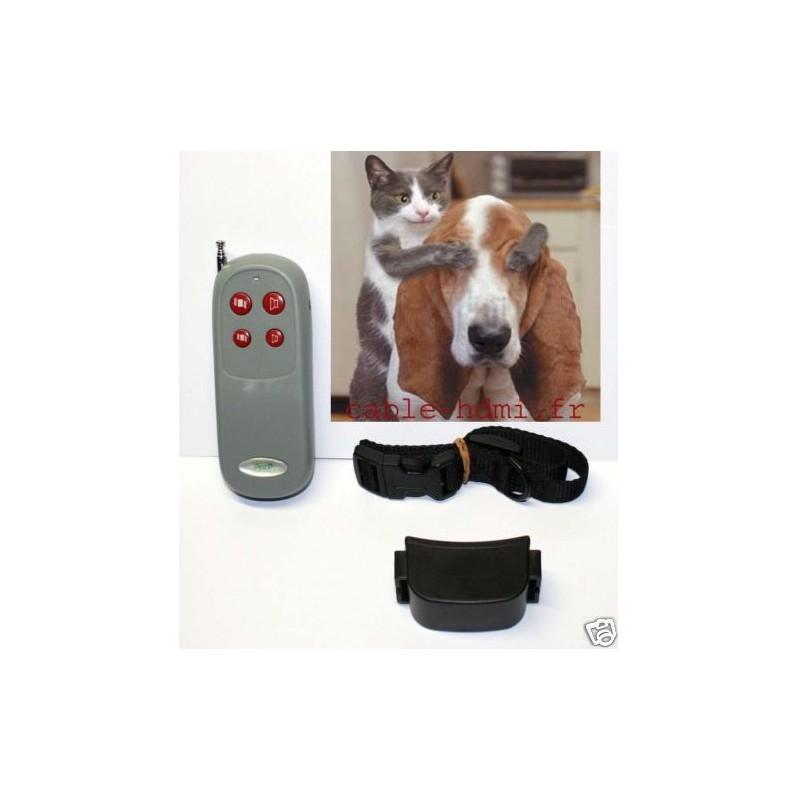 collier de dressage chien vibreur anti aboiement. Black Bedroom Furniture Sets. Home Design Ideas