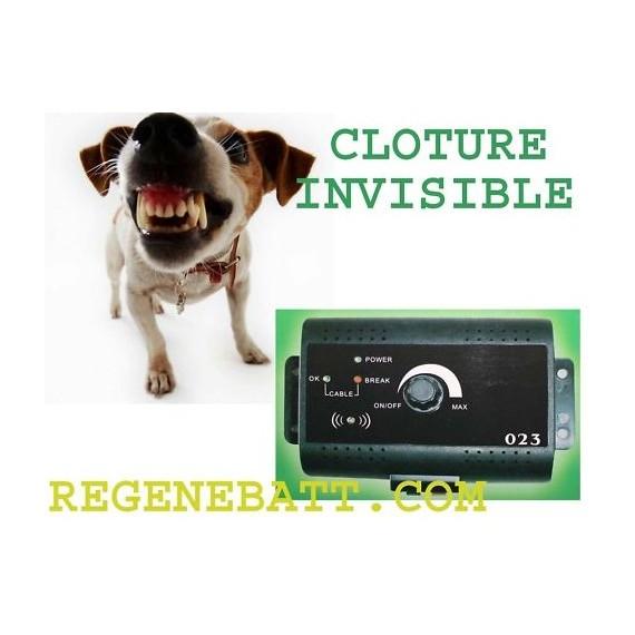 cloture collier lectrique anti fugue pour chien. Black Bedroom Furniture Sets. Home Design Ideas