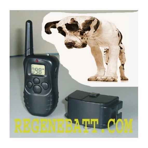 Collier chien de dressage électrique anti aboiement LCD