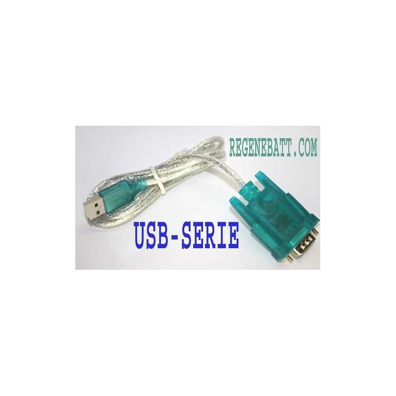 Convertisseur adaptateur port usb serie rs232 - Convertisseur port parallele vers usb ...