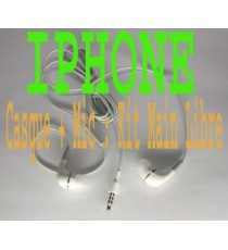 Casque écouteur kit piéton earphone iPhone 2G 3G 3GS 4