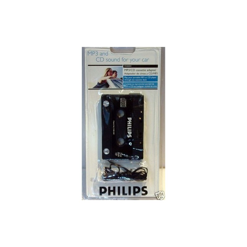 adaptateur k7 philips autoradio ou chaine pour ipod mp3. Black Bedroom Furniture Sets. Home Design Ideas