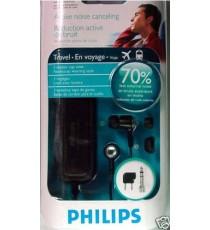 Ecouteurs Philips Réduction Active du Bruit extérieur