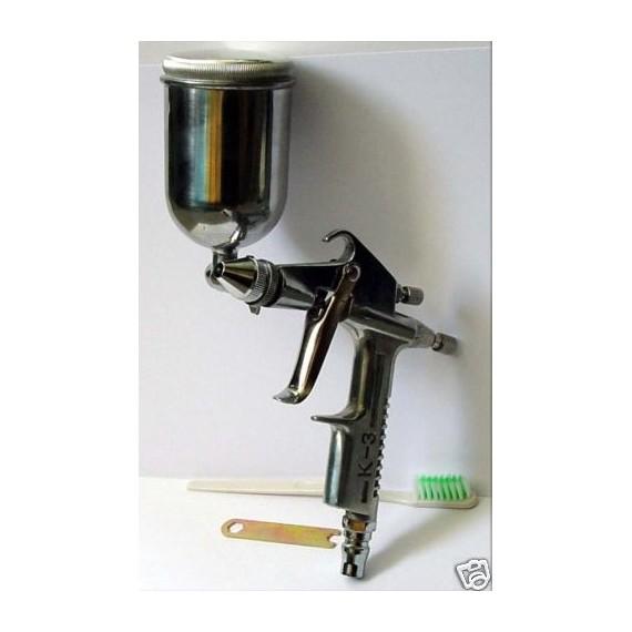pistolet peinture pneumatique gravite air brush. Black Bedroom Furniture Sets. Home Design Ideas
