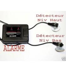 Détecteur de niveau d'eau à alarme sonore et visuelle
