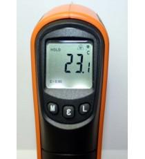 Thermomètre visée l laser sans contact -25°C a 600°C