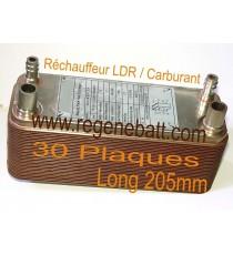 Echangeur Thermique 30 Plaques L205mm