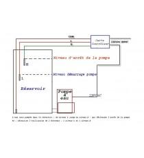 Contrôleur automatique Pompe à eau 12VDC et 220VAC 1000W max