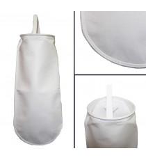 Bag filter 1 5 micron µm sewn - HVB, oil, bio-diesel D18L60cm