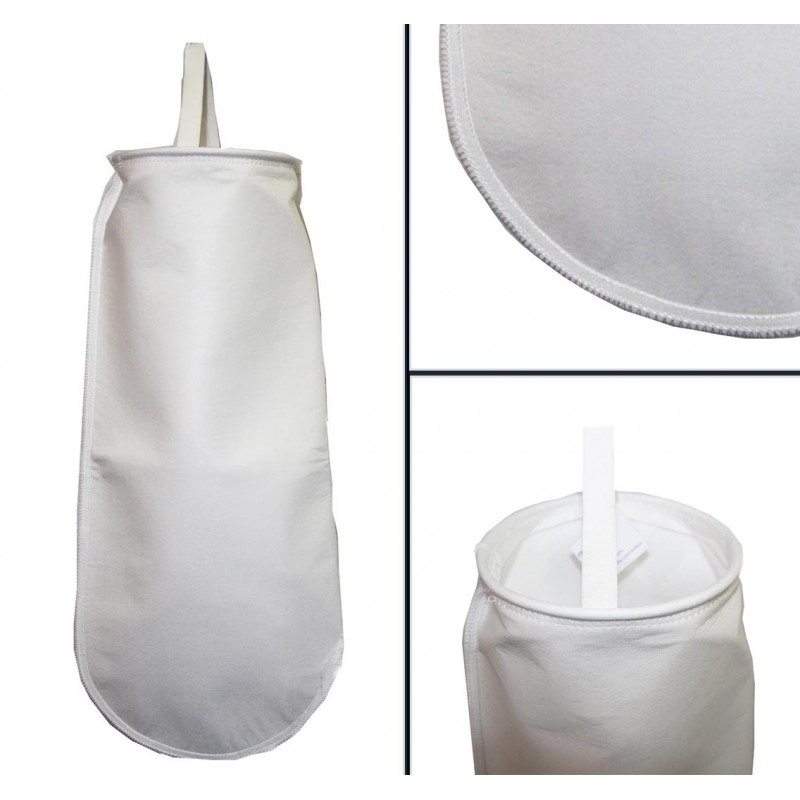 Bag filter 1 5 micron µm sewn - HVB, oil, bio-diesel
