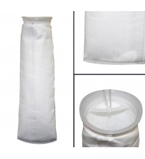 Bag filter 1 5 micron µm weld - HVB, oil, bio-diesel D11L40cm