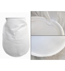 Bag filter 1 5 25 micron µm sewn - HVB, oil, bio-diesel D18L40cm