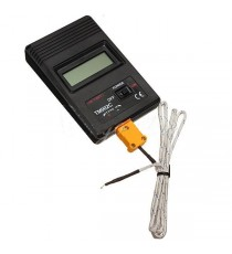 K-Type Digitale LCD Thermomètre Thermodetector + Thermocouple Probe -50 ~ 1300?