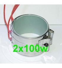 Kit Réchauffeur ceinture chauffante 2x100w filtre a Gazole, biodiesel