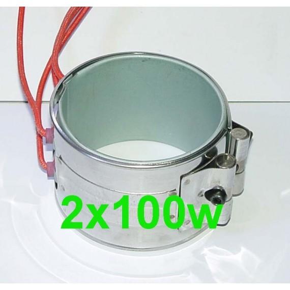 Réchauffeur ceinture chauffante 2x100w filtre a Gazole, biodiesel