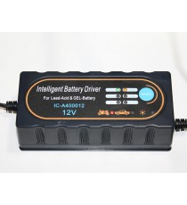 Chargeur intelligent 12v 4A waterproof auto moto