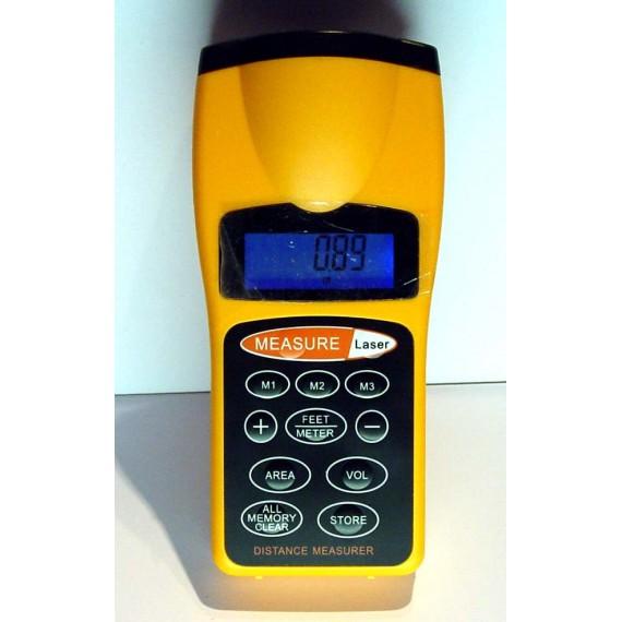 Telemetre Mesure distance Ultrason CP-3007 - visée laser