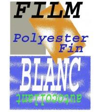 10 Films adhésifs Blanc en Polyester A4 Autocollant Laser