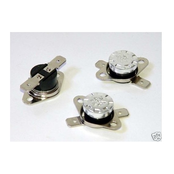 Interrupteur à Thermostat NF klixon 0°C 45°C à 125°C