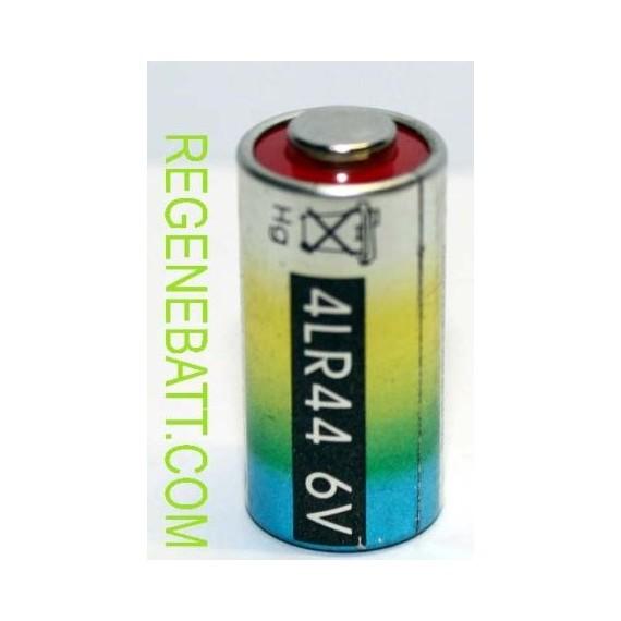 Pile 6V 4LR44 Alkaline 476A - PX28A - Telecommandes