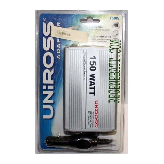 Inverter - Transfo 12v / 220v allume cigare - 150w