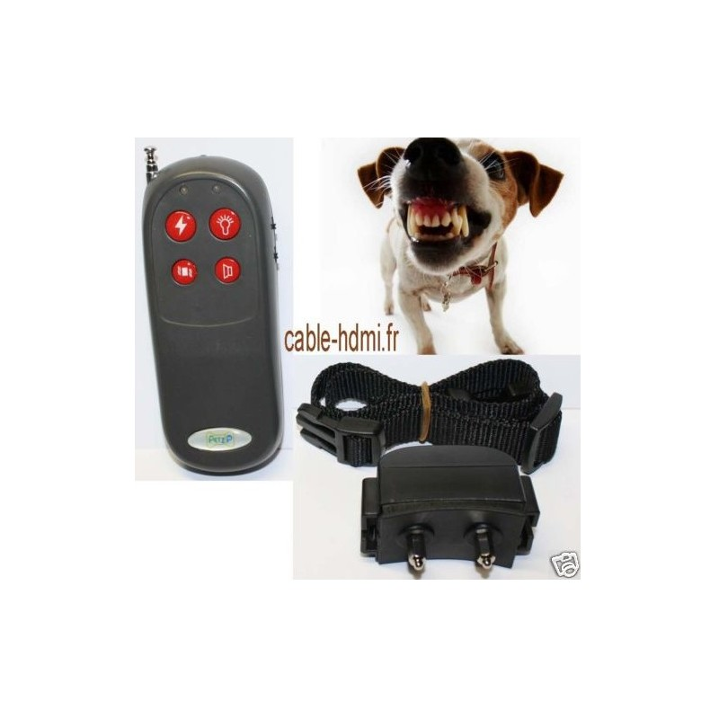 collier de dressage chien electrique anti aboiement. Black Bedroom Furniture Sets. Home Design Ideas