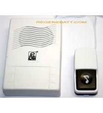 Sonnette électronique filaire avec poussoir - carillon