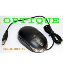 Mini Souris Optique Roulette 3D USB 2.0 Hi-Speed