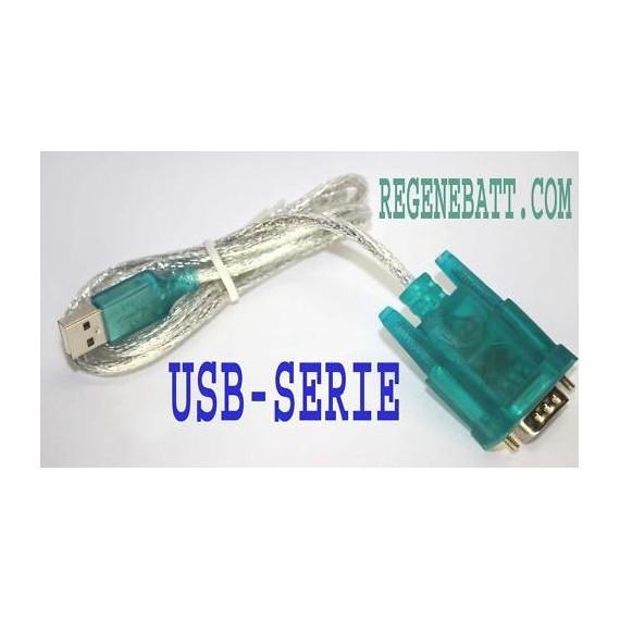 Convertisseur Adaptateur Port USB / Serie (RS232)