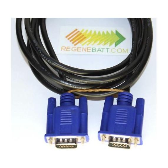 Cable VGA Male vers VGA HD-15 10 Gbps (1.5m/2m)