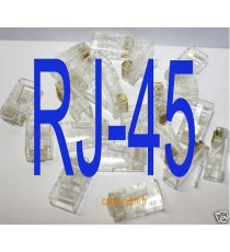 20 Fiches connecteurs RJ45 RJ-45 Prise Cat5 Cat6