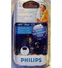 Ecouteurs Philips Virtual Surround SHE5910