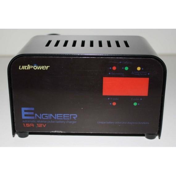 12v 1.5A Chargeur Désulfateur de batteries au plomb UltiPower