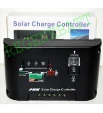 Contrôleur solaire 10A de charge de batteries