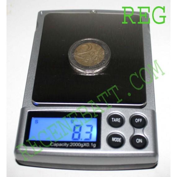 2000g ± 0,1g Balance Electronique précision Bijoutier
