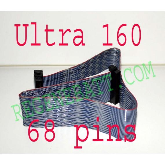 Nappe SCSI 68 PIN ULTRA 160 LVD pour Serveur